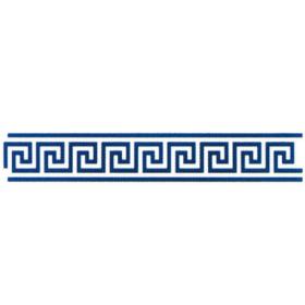 BRICO Self-adhesive stencil Meandros 11 x 70 cm