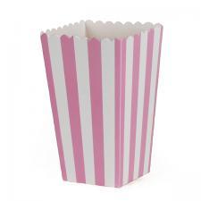boks popcorn rosa 6stk
