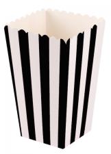 boks popcorn sort 6stk