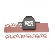 cupcake chain large edger punch