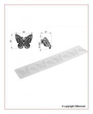 siliconmatte sommerfugl
