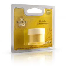 Silk metallic gold treasure