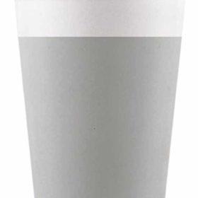 Drikkekrus i Papp Grå 8 stk COMPOSTABLE