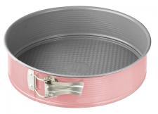 Kakeform rund rosa 26cm