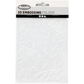 Embossing folder 11x14cm, blader