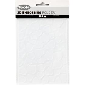 Embossing folder 11x14cm, hjerter