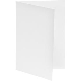 brevkort 10stk hvit