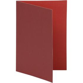 brevkort 10stk rød