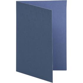 brevkort 10stk blå