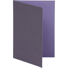 brevkort 10stk lilla