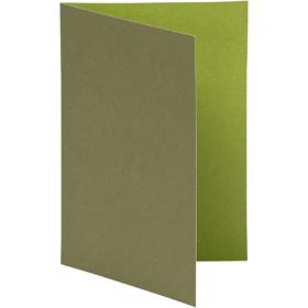 brevkort 10stk grønn