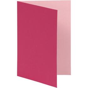 brevkort 10stk rosa
