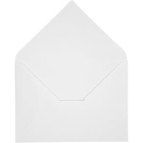 konvolutt 10stk hvit