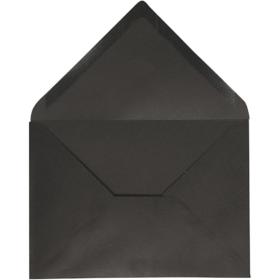 konvolutt 10stk sort