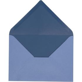 konvolutt 10stk blå
