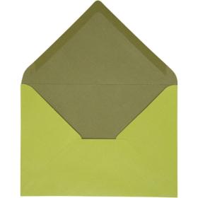konvolutt 10stk grønn