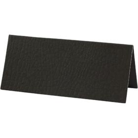 bordkort 25stk sort