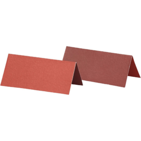 bordkort 25stk rød