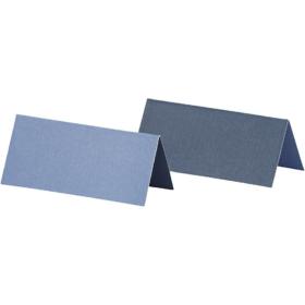 bordkort 25stk blå