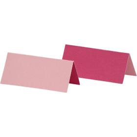 bordkort 25stk rosa