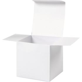 Brett-selv-eske 10stk hvit