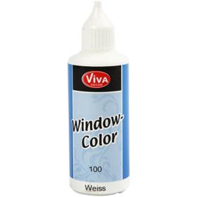 Window-Color 80ml, hvit