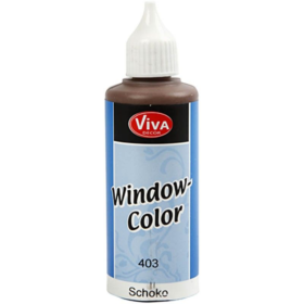 Window-Color 80ml, chocolate