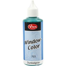 Window-Color 80ml, mørk grønn