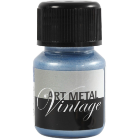 Art Metal 30ml, pearl blå