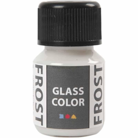 Glass Frosted 35ml, hvit