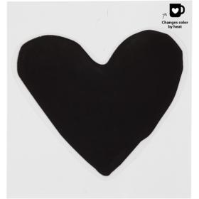 Glass & Porcelain sticker 8cm - My love, 1stk.