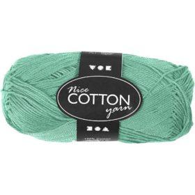 Cotton 100% bomull 50g - grønn