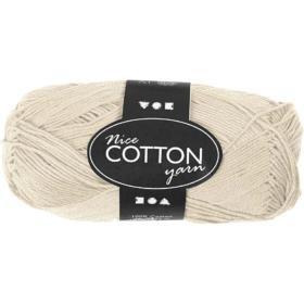 Cotton 100% bomull 50g - beige