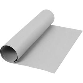 Lærpapir 0,55mm 50x100cm grå