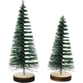 grantrær 4+6cm 5stk