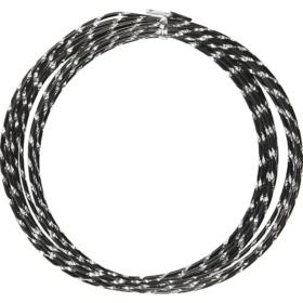 Alutråd 2mm sort diamond 7m