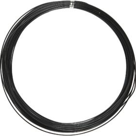 Alutråd 1mm sort 16m