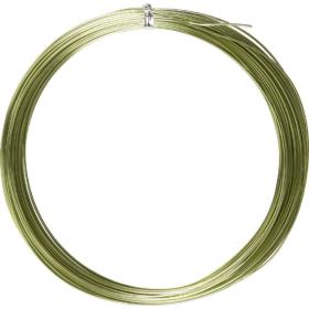 Alutråd 1mm grønn 16m
