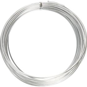 Alutråd 2mm sølv 10m
