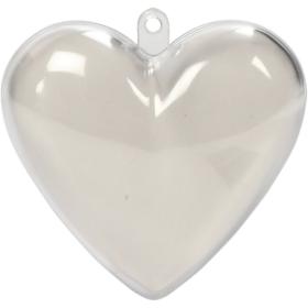 dele-hjerte 6,5cm 10stk