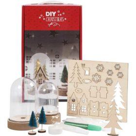 DIY juleklokker m/lys