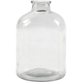 Apotekflaske H:16,5cm