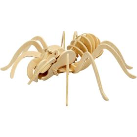 3D puzzle edderkopp