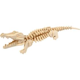 3D puzzle krokodille