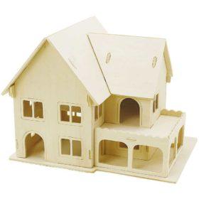3D puslespill hus 16x22cm