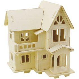 3D puslespill hus 18,5x19cm