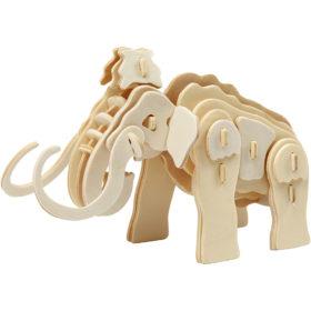 3D puzzle mammut