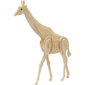 3D puzzle giraff