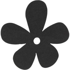 blomst 10stk sort