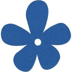 blomst 10stk blå